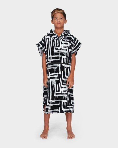 1 TEEN HOODIE TOWEL Black 8682705 Billabong