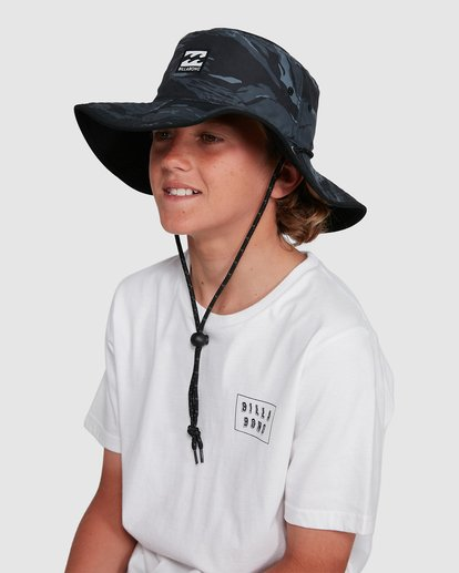 3 Boys Division Reversible Hat Black 8691304 Billabong