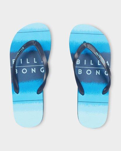 1 BOYS 73 STRIPE THONG Blue 8691946 Billabong
