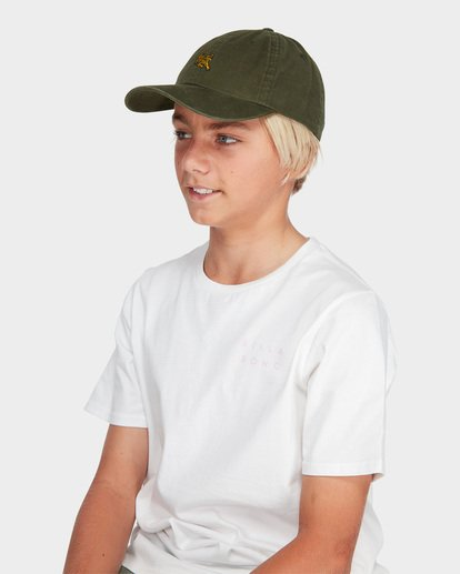 3 TEEN TERRACE LAD CAP Green 8695311 Billabong