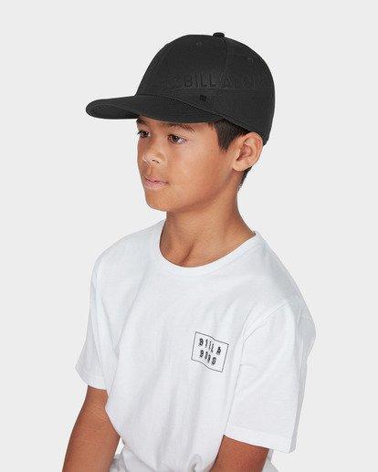 3 BOYS SLICE STRETCH CAP Black 8695312 Billabong