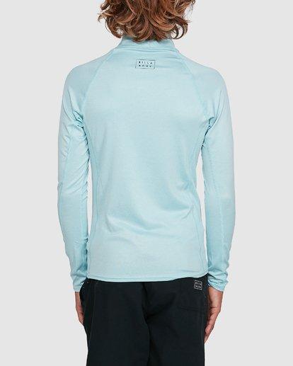 5 Boys All Day Wave Performance Fit Long Sleeve Rash Vest Blue 8703004 Billabong