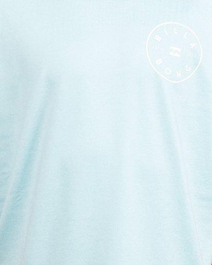 8 Boys Rotor Loose Fit Short Sleeve Rash Vest Blue 8703005 Billabong