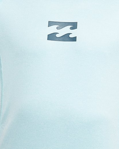 4 Boys All Day Wave Performance Fit Short Sleeve Rash Vest Blue 8703006 Billabong