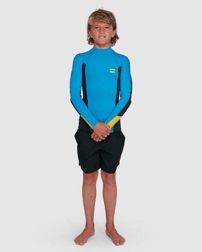 8 Boys Absolute Lite Wetsuit Jacket Blue 8703131 Billabong