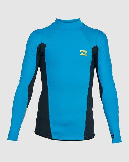1 Boys Absolute Lite Wetsuit Jacket Blue 8703131 Billabong