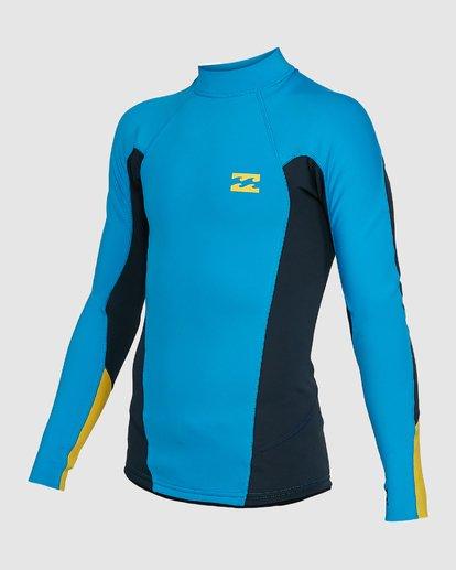 0 Boys Absolute Lite Wetsuit Jacket Blue 8703131 Billabong