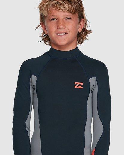 6 Boys Absolute Lite Wetsuit Jacket Blue 8703131 Billabong