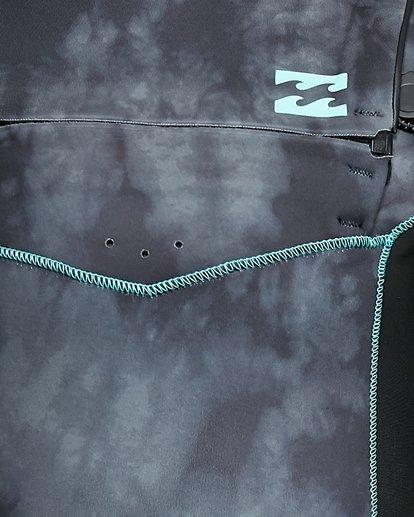 9 Boys 202 Revolution Chest Zip Long Sleeve GBS Springsuit Black 8703520 Billabong