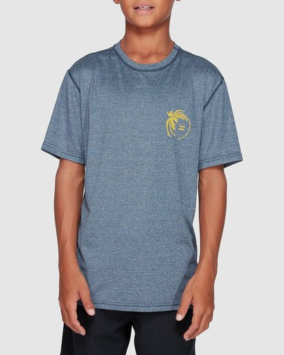 0 Boys Storm Lf Surf Shirt Blue 8707506 Billabong