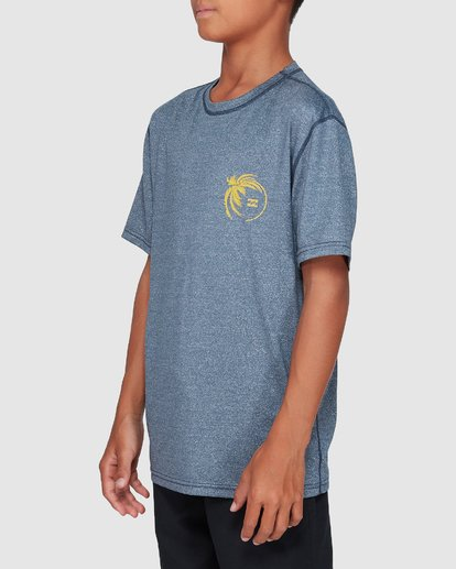 1 Boys Storm Lf Surf Shirt Blue 8707506 Billabong