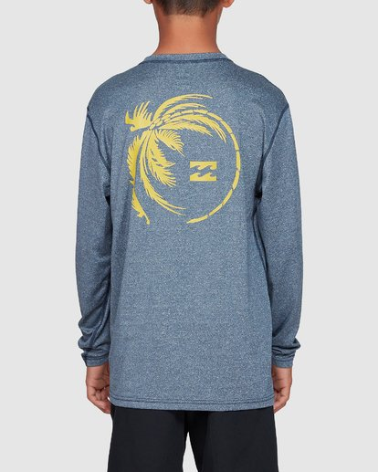 2 Boys Storm Lf Long Sleeve Surf Shirt Blue 8707507 Billabong