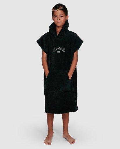 4 Boys Wetsuit Hoodie Towel Black 8707710 Billabong