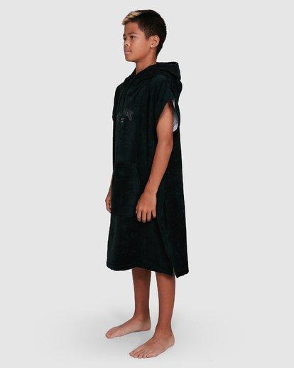 1 Boys Wetsuit Hoodie Towel Black 8707710 Billabong