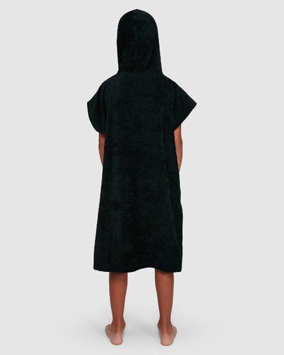 2 Boys Wetsuit Hoodie Towel Black 8707710 Billabong