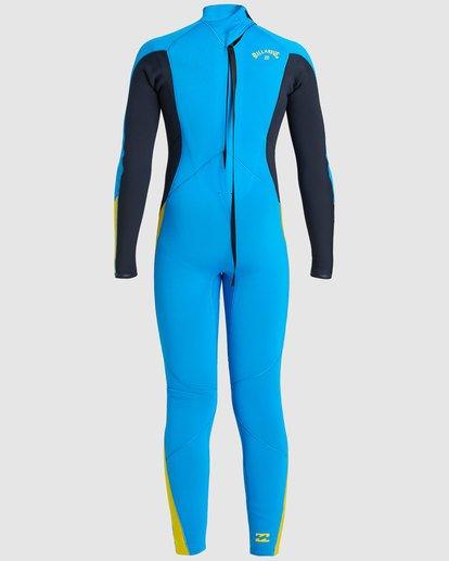 3 Boys 3/2 Absolute Back Zip Long Sleeve Gbs Fullsuit Blue 8717810 Billabong