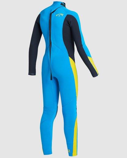 4 Boys 3/2 Absolute Back Zip Long Sleeve Gbs Fullsuit Blue 8717810 Billabong