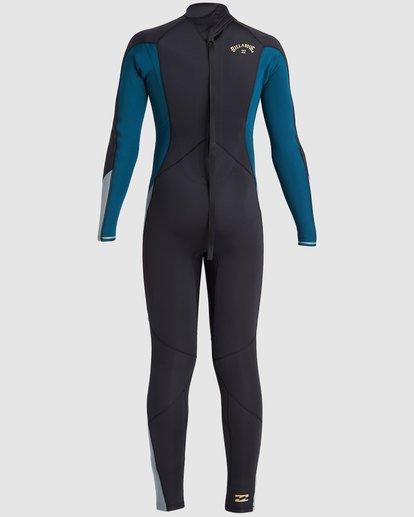 3 Boys 4/3 Absolute Back Zip Long Sleeve Gbs Fullsuit Black 8717817 Billabong
