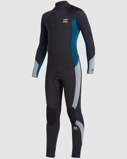 0 Boys 4/3 Absolute Back Zip Long Sleeve Gbs Fullsuit Black 8717817 Billabong