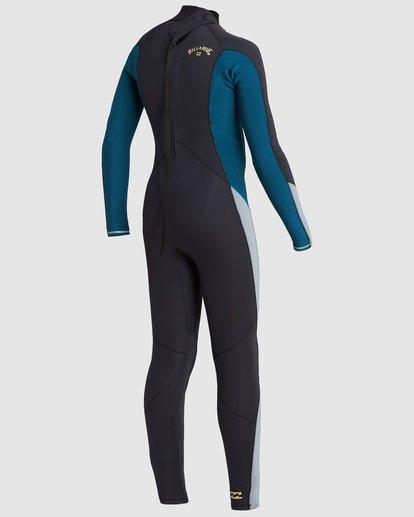 4 Boys 4/3 Absolute Back Zip Long Sleeve Gbs Fullsuit Black 8717817 Billabong