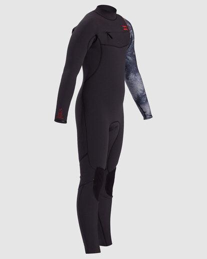 2 Boys 4/3 Furnace Comp Chest Zip Fullsuit Black 8717891 Billabong