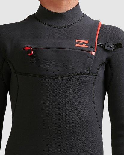 7 Boys 4/3 Furnace Comp Chest Zip Fullsuit Black 8717891 Billabong