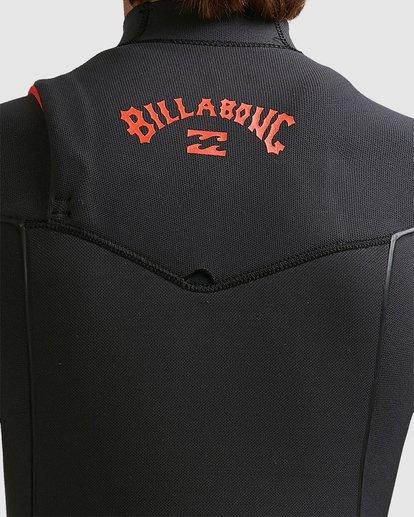 8 Boys 4/3 Furnace Comp Chest Zip Fullsuit Black 8717891 Billabong