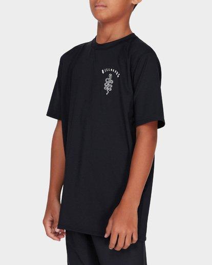 1 TEEN COBRA SURF SHIRT Black 8782001 Billabong