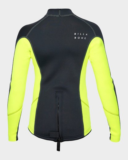 2 Boys Absolute Lite Wetsuit Jacket Yellow 8791132 Billabong