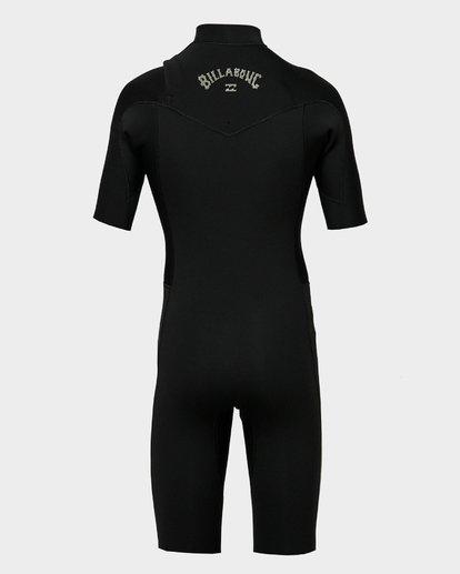 2 Boys 202 Revolution Gbs Short Sleeve Springsuit Black 8791420 Billabong