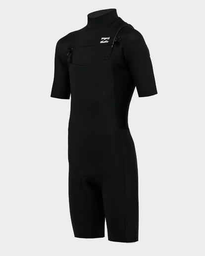 0 Boys 202 Revolution Gbs Short Sleeve Springsuit Black 8791420 Billabong