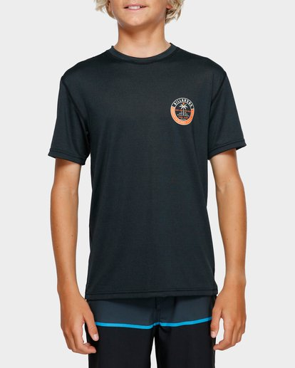 3 Boys Sea Shore Lf Ss Black 8791508 Billabong
