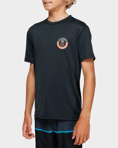 4 Boys Sea Shore Lf Ss Black 8791508 Billabong