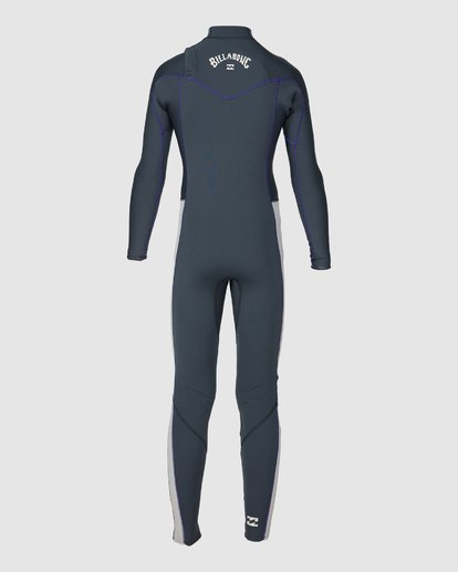2 302 Boys Furnace Revolution Long Sleeve Fullsuit Grey 8791820 Billabong