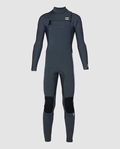 1 302 Boys Furnace Revolution Long Sleeve Fullsuit Grey 8791820 Billabong