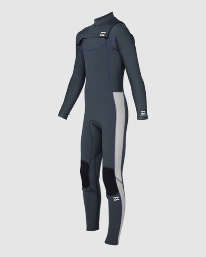 0 302 Boys Furnace Revolution Long Sleeve Fullsuit Grey 8791820 Billabong