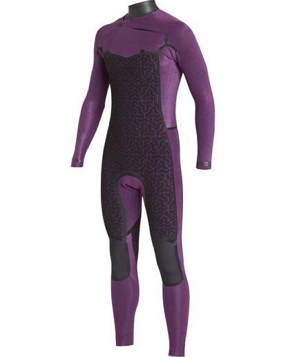 3 302 Boys Furnace Revolution Long Sleeve Fullsuit Grey 8791820 Billabong