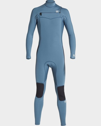 1 BOYS 302 REVOLUTION CHEST ZIP FULLSUIT Blue 8791820 Billabong