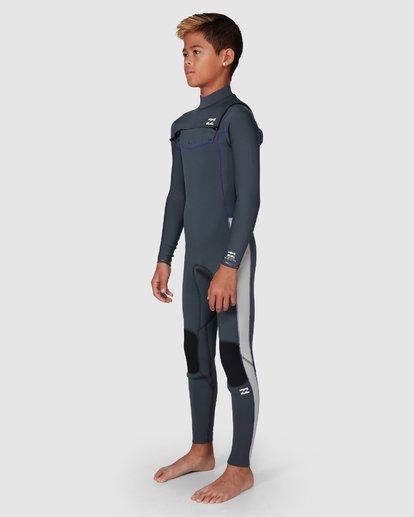 5 302 Boys Furnace Revolution Long Sleeve Fullsuit Grey 8791820 Billabong