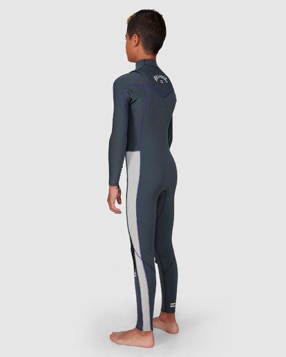 10 302 Boys Furnace Revolution Long Sleeve Fullsuit Grey 8791820 Billabong
