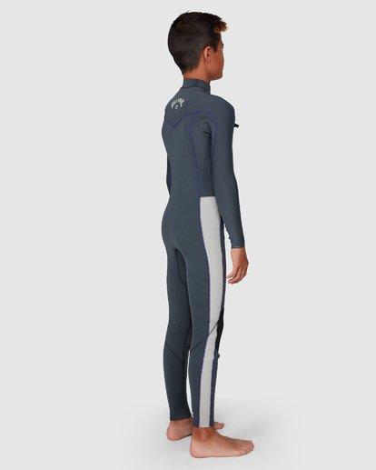 8 302 Boys Furnace Revolution Long Sleeve Fullsuit Grey 8791820 Billabong