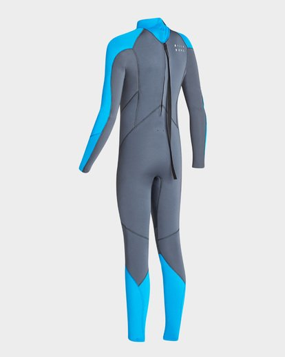 5 302 BOYS FURNACE ABSOLUTE BACK ZIP GBS FULLSUIT Grey 8795810 Billabong