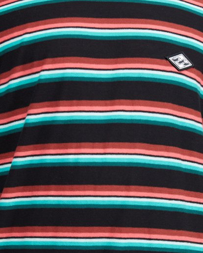 5 Die Cut Stripe Short Sleeve Crew Black 9503000 Billabong