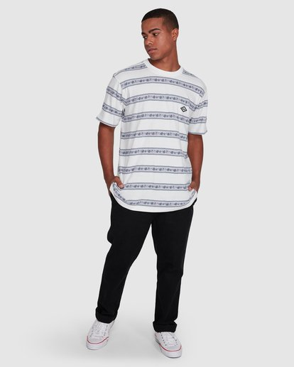 6 Austin Crew Tee White 9503001 Billabong