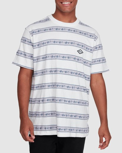 1 Austin Crew Tee White 9503001 Billabong