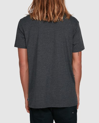 3 United Stack Short Sleeve Tee Black 9503009 Billabong