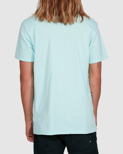 3 United Stack Short Sleeve Tee Green 9503009 Billabong