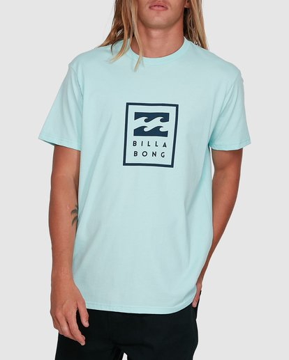 1 United Stack Short Sleeve Tee Green 9503009 Billabong