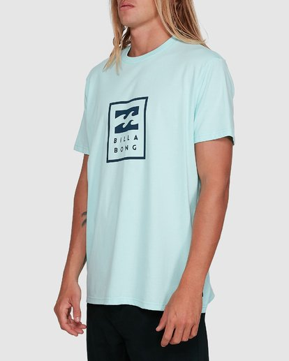 2 United Stack Short Sleeve Tee Green 9503009 Billabong