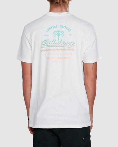 3 Combo Wave Short Sleeve Tee White 9503010 Billabong